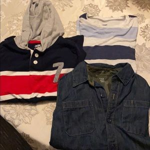 Other - Boys size 10/12 Med long sleeve shirts